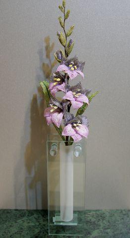 Мк как плести из бисера цветы - Изготавлимаем цветы.